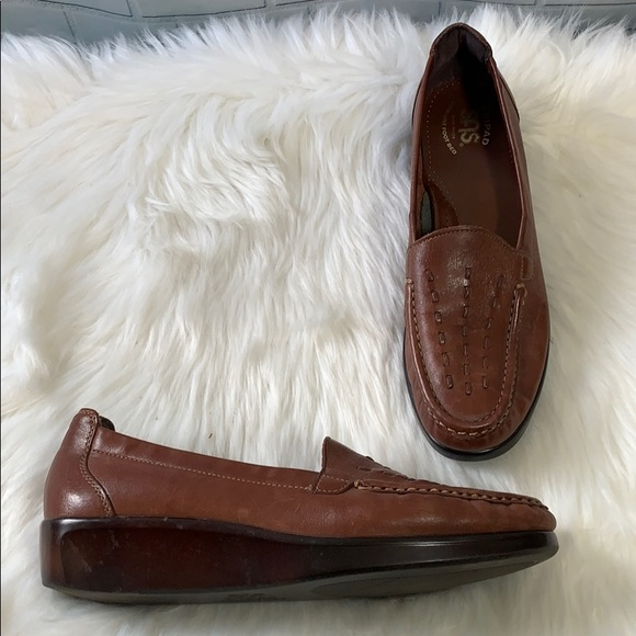 SAS Weave Slip On Loafer Tripad Comfort Size 10N